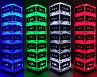 Gift for Him Man Cave Mood Light Color-changing Mixtape Light