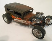 Rat Rod, Scale Model Car, Ford,Rusted Wreck, Classicwrecks