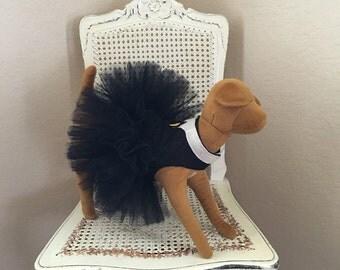 Swan Collar Courture Dog Dress