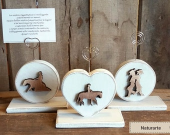 Photo-Memo-holder Western silhouettes