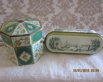 Pre Christmas Sale Choose Your Favorite Tin For Holiday Gifts Cookie Tin
