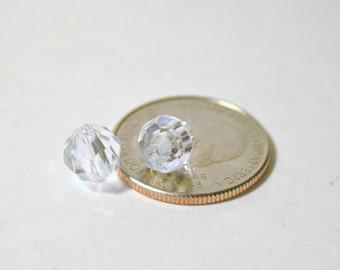 Acrylic Beads - 118 Piece Clear Crystal Shaped