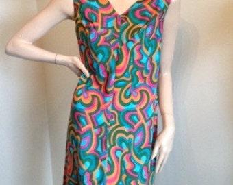 70s Mod Summer Dress