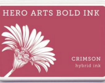 Hero Arts Crimson Hybrid Ink Pad AF335