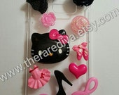 Kitty Deco Den Bling Custom phone case
