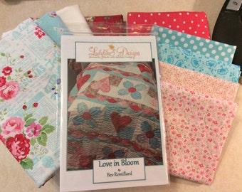 Love in Bloom Quilt Kit