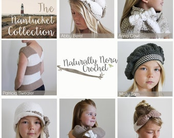 Instant Download 7 Pattern Collection-The Nantucket Collection