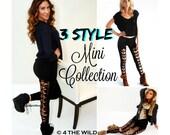 Leggings, 3 styles of leggings, 4thewild leggings, pants, Leggings, Pants, Black Leggings, Long Stretch Pants, Black Yoga Pants,Cut Legging