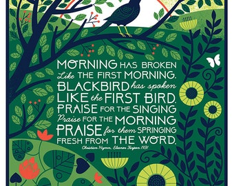 Morning Has Broken- 11X14 print