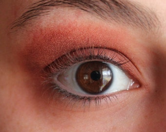 Mineral Makeup - Eggplant Matte Finish Eyeshadow - Vegan Mineral Shadow - Vegan Makeup - Mineral Eyeshadow - Mineral Eyeliner