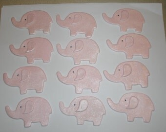 Gumpaste Elephant Jungle Safari Animals Cupcake Toppers -  Baby Showers, Birthday Parties