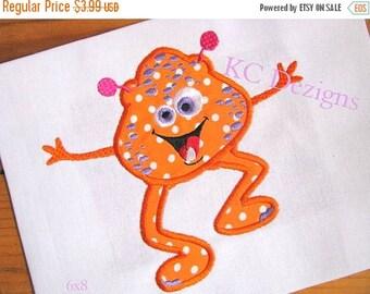 50% OFF SALE Fun Monsters 04 Machine Applique Embroidery Design - 4x4, 5x7 & 6x8