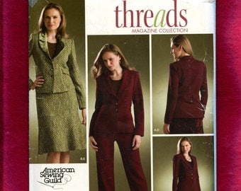 Simplicity 3962 Modern Ladies Suit Pattern Size 10 12 14 16 18  UNCUT