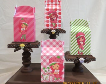 Strawberry Shortcake Treat/Favor Bags (Set of 8)