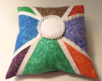 Patchwork Pin Cushion Multi-colors