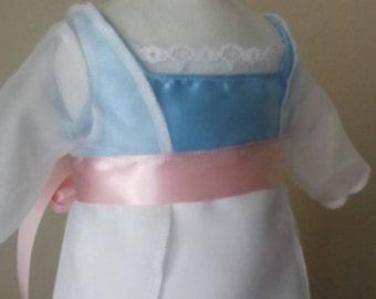 """Rose Titanic Dress for American Girl 18"""" Doll"""