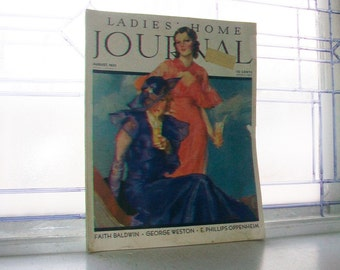 Vintage 1933 Ladies Home Journal Magazine