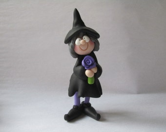 Whimsical Halloween Witch