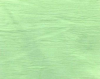 """54"""" Mint Green Cotton Gauze Fabric-15 Yards Wholesale by the bolt"""