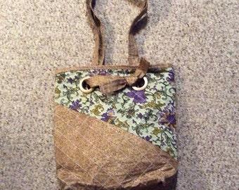 Bucket style bag