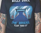 Vintage Billy Joel Concert Tee Shirt