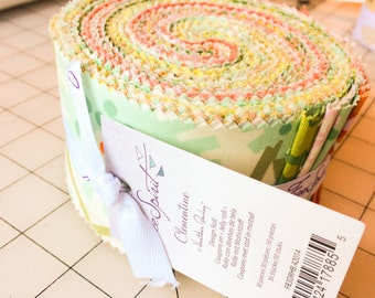 Etchings Jelly Roll by 3 Sisters for Moda