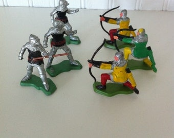 Britain Ltd -soldiers- archer- knights-Hong Kong- toy soldiers