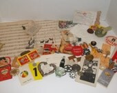 Lot of Vintage Ephemera for Art Journaling, Altered Art Etc. (100 pieces)