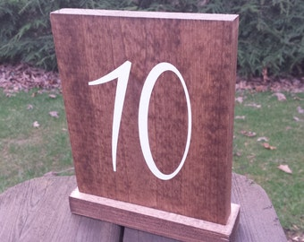Table Numbers, Rustic Table Numbers, Wood Table Numbers, Rustic Wedding