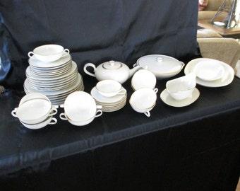 Heinrich & Co. Selb Bavaria, Germany Dinnerware Set - Porcelain Dinnerware Set