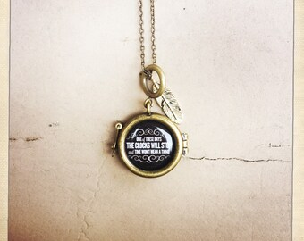 Foo Fighters Customized Lyric necklace