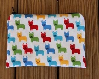 Reusable ZIPPER Snack Bag, Dogs - Zipper Snack Bag