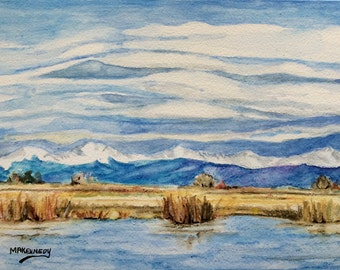 Six Assorted Notecards -- Paintings of the San Luis Valley