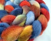 County Fair - Handpainted Shetland Wool Roving, 4 oz.