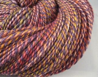 PHEASANT - Handspun Merino Silk Yarn, 290 yd