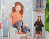 Simplicity 1180 Girls Play Clothes with matching 18 Inch Doll Clothes--Sizes-7-14