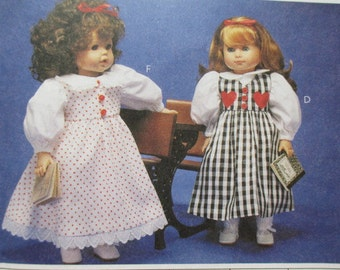 McCalls 9066 -Sewing Pattern to make 18 Inch Doll Clothes for Gotz Dolls
