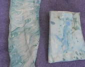 two marbled wall pockets shipping included