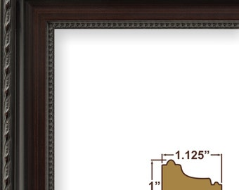 Annesbury, Queen Ann Dark Walnut Picture Frame (64050507)