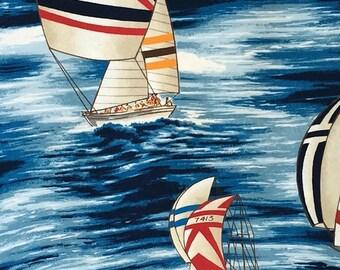 Gorgeous Hoffman sailboat fabric