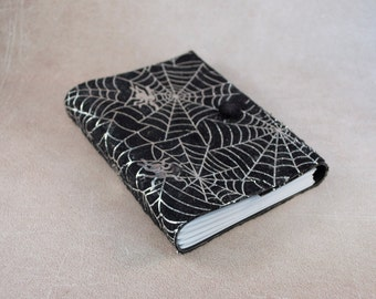 SALE Spider web journal blanc notebook diary travel halloween gift