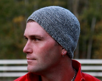 Beanies - Beanie Hats for Men - Winter Hats - Beanie Hat - Beanies - Custom Hats - Wool Hat - Mens Hats - Trucker Hats - Hand Knit Hat Gray