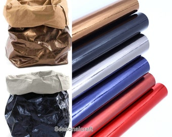"Half Yard Kraft Paper Fabric,Washable Paper Fabric,Imported From Germany,10 Kinds For Choice, 18"" x 59"" (45 x150cm) Cyber Monday (QT911)"