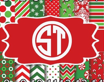 Christmas Tradition printed vinyl or heat transfer vinyl (iron on) You choose size 6x6, 8.5x11, 12x12, 12x24 or 12x36