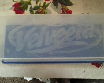 Vintage Velveeta storage container