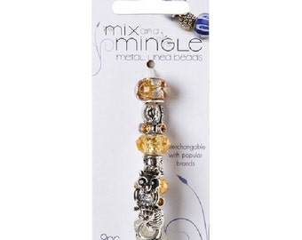 Mix and Mingle Themed Bead Pack - Owls
