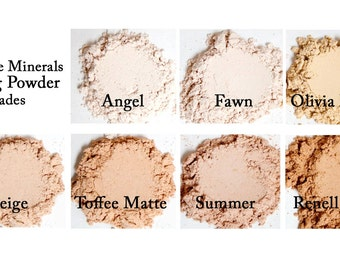 Renell Matte Setting Powder - Always Vegan and Cruelty-Free- 9g product in a 30g sifter jar
