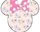 Mickey Mouse Princess Themed Iron-On Digital File