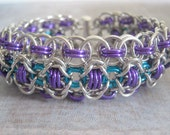 Your Majesty Bracelet Aluminum Chain Maille Cuff