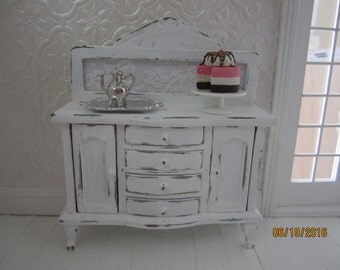 Dollhouse Miniature Vintage  Buffet       Free Shipping